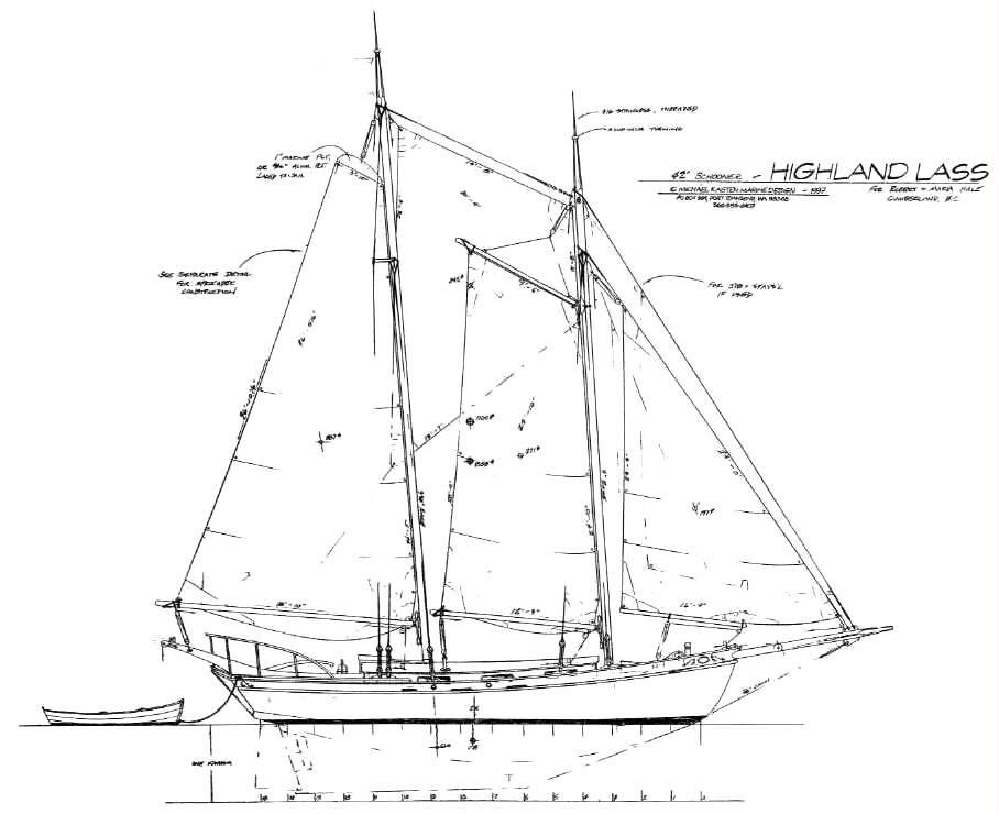42 u0026 39  schooner