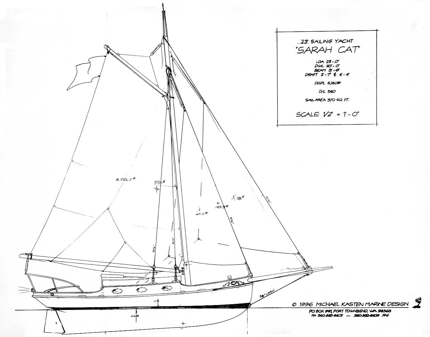 The 23' Cutter - SARAH CAT