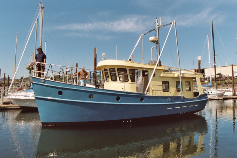 40' Coaster - Kasten Marine Design, Inc.