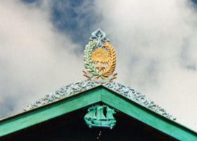 Ara Roof Gable Decoration