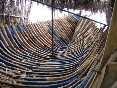 Boat Framing in Tanah Biru