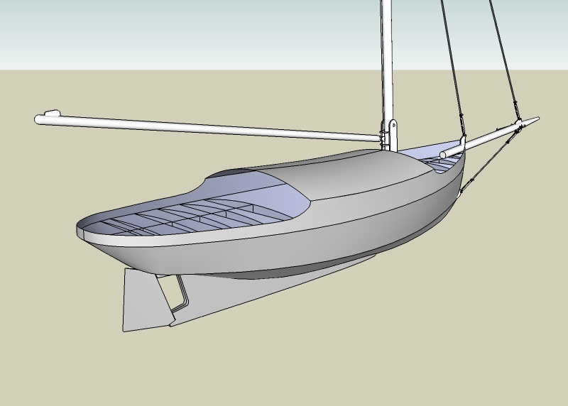 23' Sarah Cat - Kasten Marine Design, Inc.